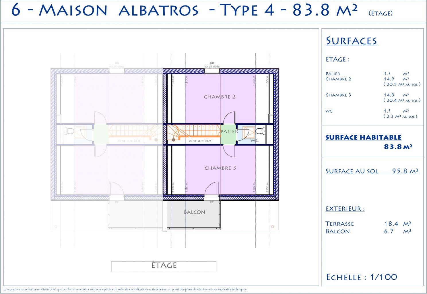 Maison t4 06 programme cottage park maisons for Plan maison t4