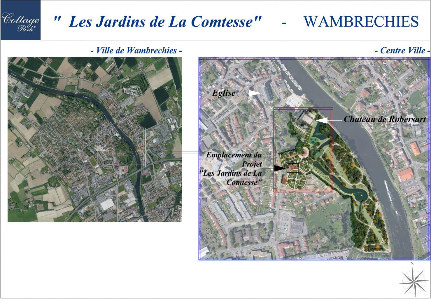 Appartement t2 1er tage 2b programme les jardins de for Carrelage wambrechies