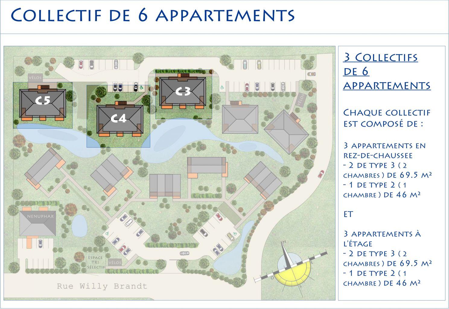 appartement t3 rez de chauss e 25 programme cottage park appartements cottage park. Black Bedroom Furniture Sets. Home Design Ideas